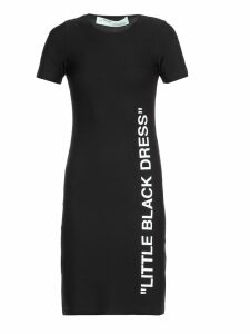 Off-White Stretch Dress