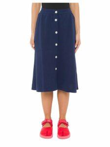 Maison Kitsuné Piqué Skirt