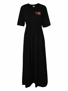 Kenzo Rose Embroidered Long Dress