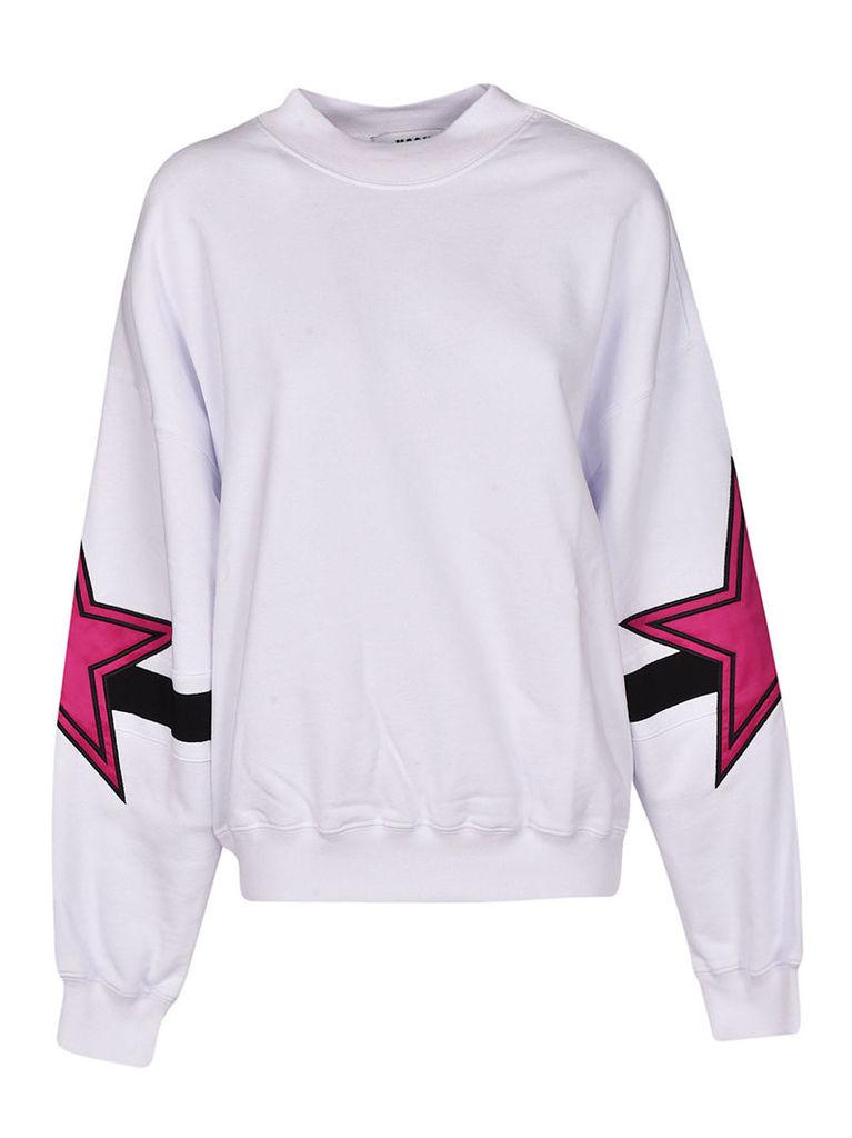 Msgm Wide-sleeved Sweatshirt