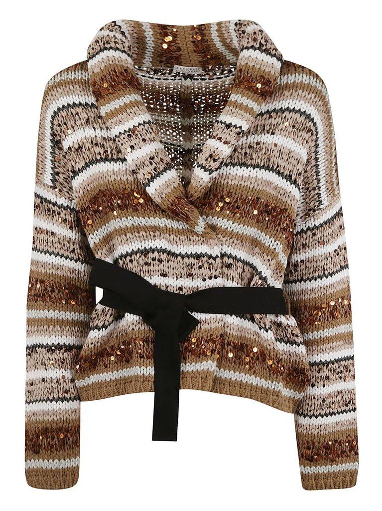 Brunello Cucinelli Chunky Knit Cardi-coat