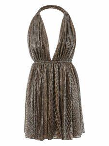 Saint Laurent Backless Lurex Dress