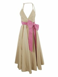 N.21 Contrast Bow Dress