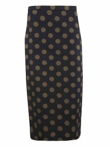 Max Mara Polka Dot Skirt