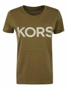 Michael Kors Studded Logo T-shirt