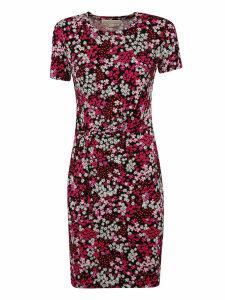 Michael Kors Floral Print Short-length Dress