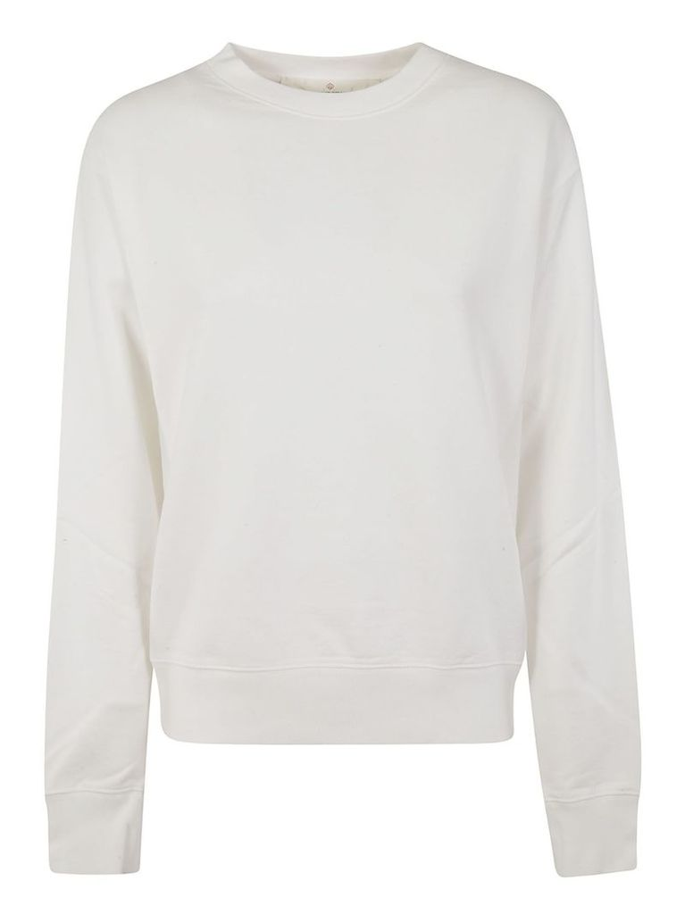 Golden Goose Long-sleeved Back Star Logo Print Sweatshirt