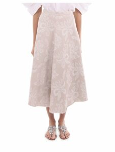 Junya Watanabe Patterned Skirt