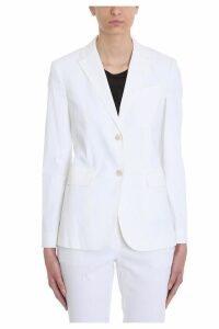 Theory Cotton And Linen Classic Blazer