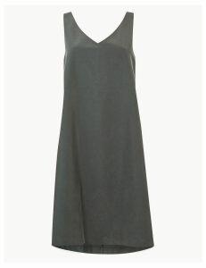 Per Una Modal Rich Shift Mini Dress