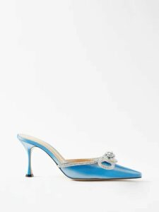 Heidi Klein - Point Collar Silk Shirtdress - Womens - Navy