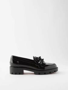 Dodo Bar Or - Enid Floral Print Cotton Maxi Dress - Womens - Navy Print