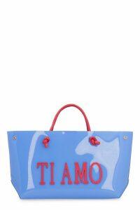 Alberta Ferretti ti Amo Pvc Tote Bag