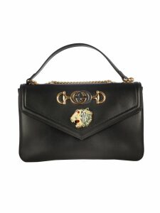 Gucci Rajah Calf Leather Flap Medium