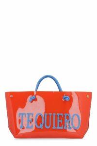 Alberta Ferretti te Quiero Pvc Tote Bag