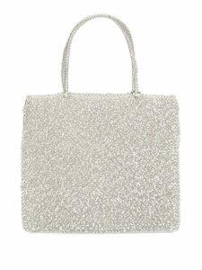 Anteprima standard medium tote bag - Silver