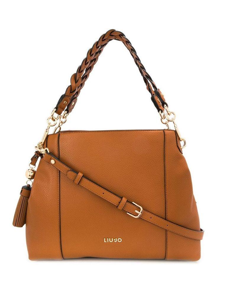 Liu Jo classic tote bag - Brown