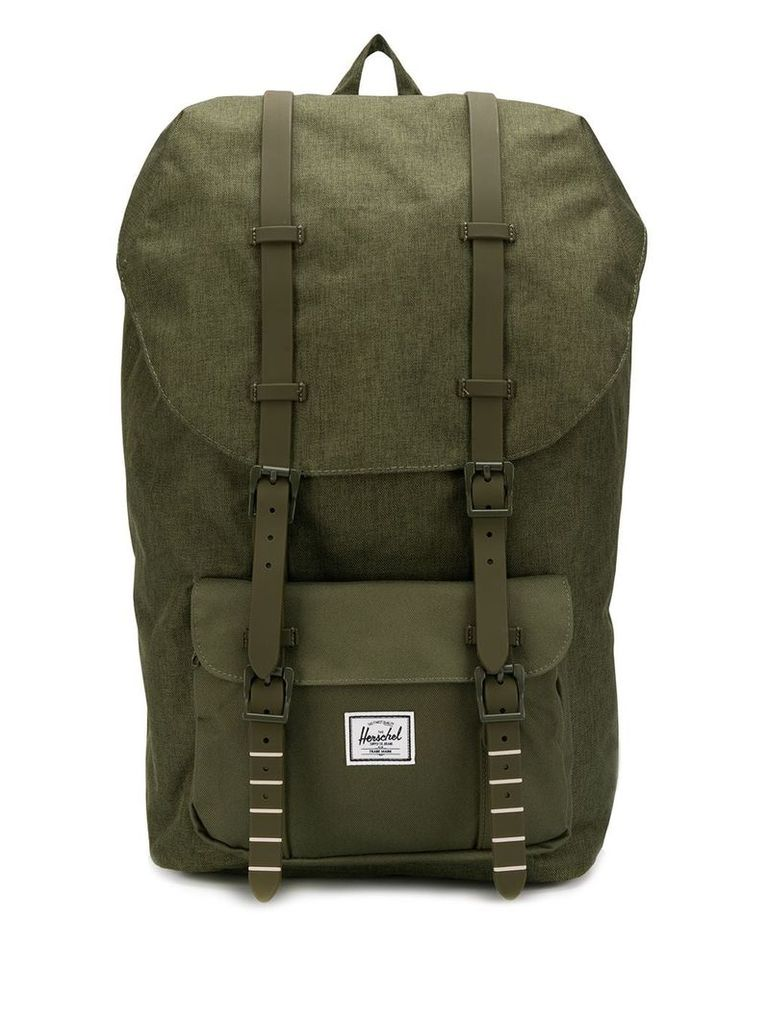 Herschel Supply Co. Little America canvas backpack - Green