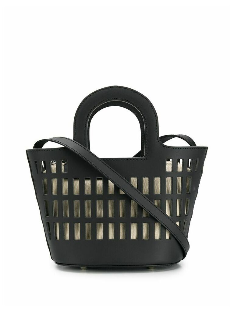 Hereu mini shopping bag tote - Black