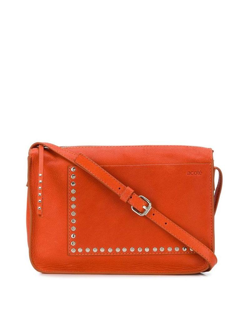 Cotélac zipped crossbody bag - Orange