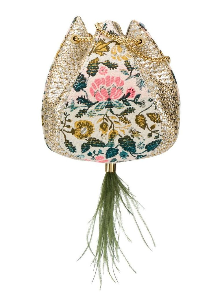 The Volon Cindy flower bag - Neutrals