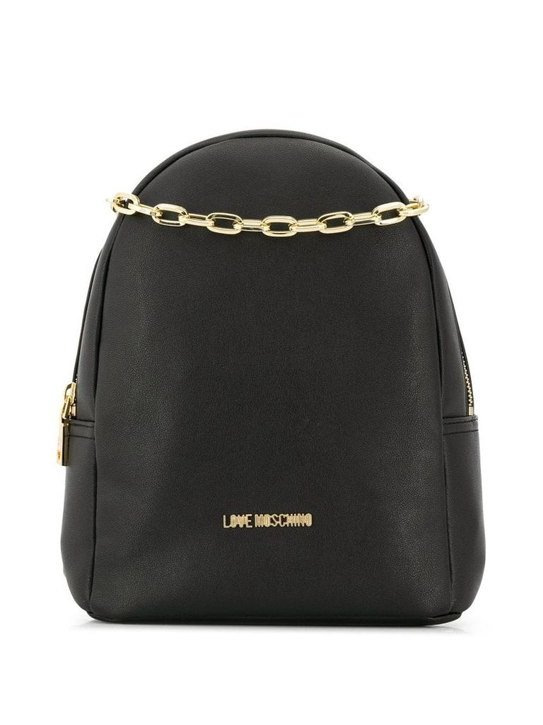 Love Moschino Smooth backpack - Black