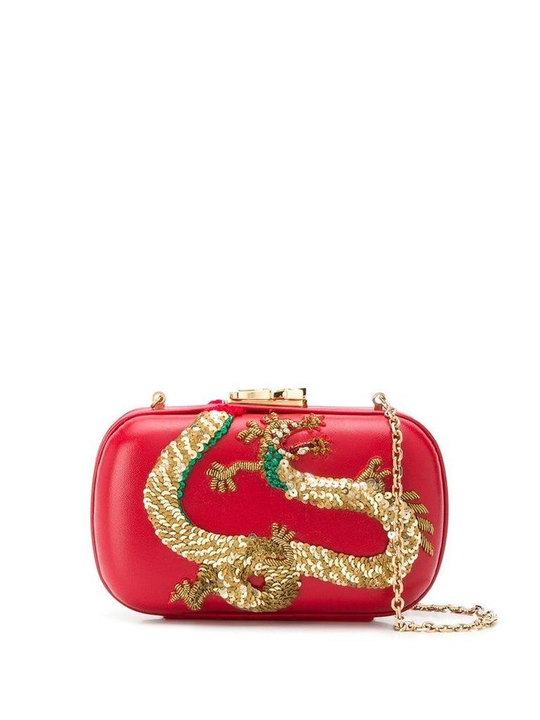 Corto Moltedo Susan C Star clutch - Red