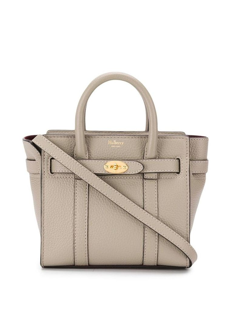 Mulberry Bayswater small shoulder bag - Grey