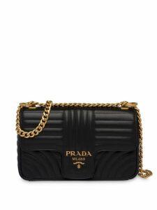 Prada Diagramme medium shoulder bag - Black