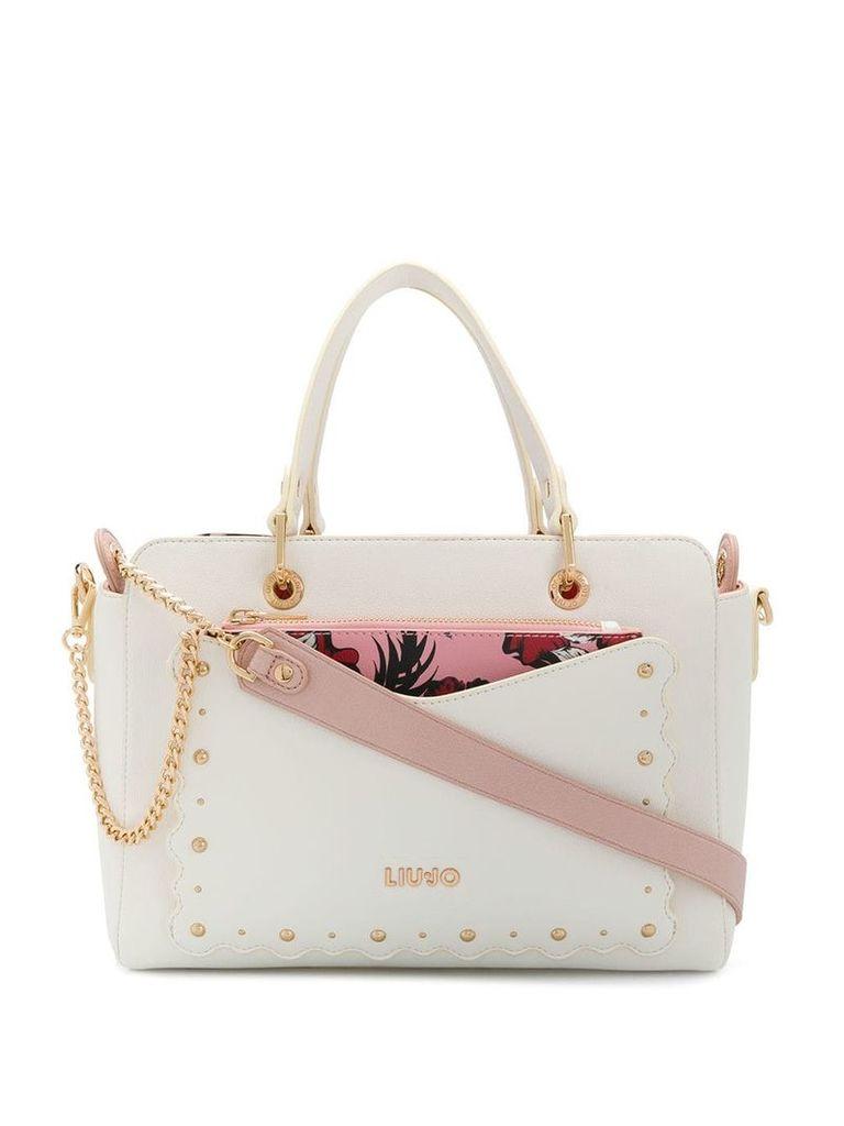 Liu Jo medium tote bag - White