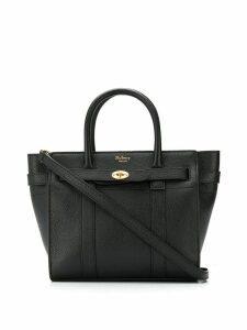Mulberry mini zipped Bayswater tote - Black