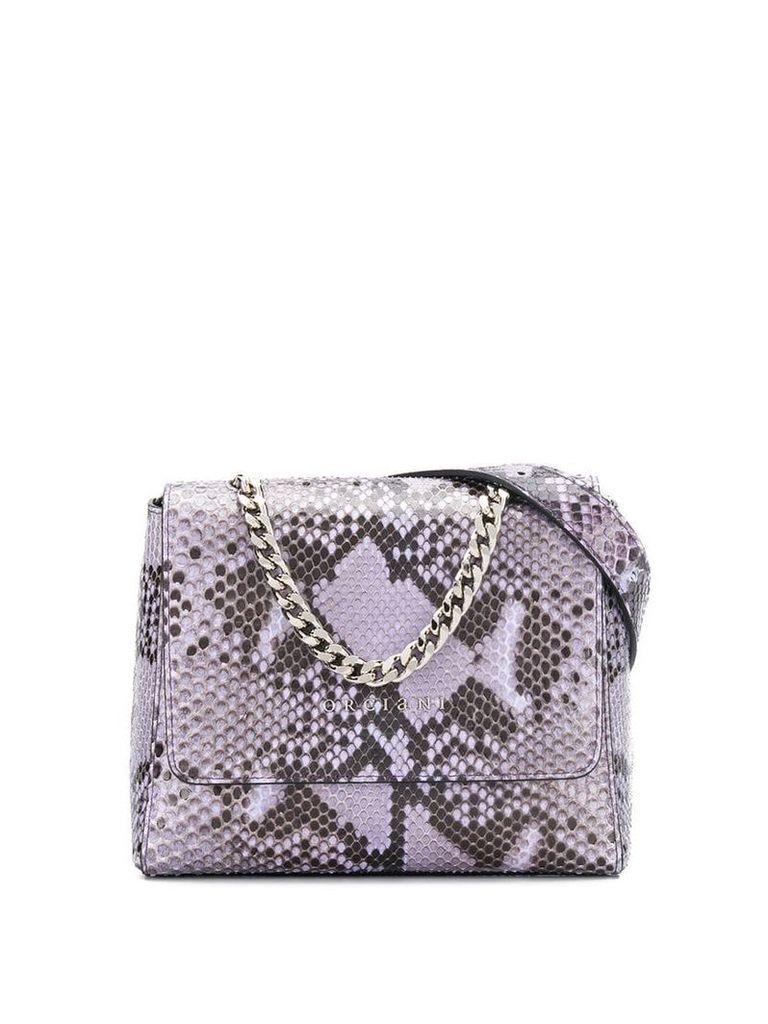 Orciani Diamond belt bag - Purple