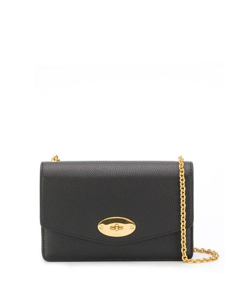 Mulberry Darley mini crossbody bag - Black