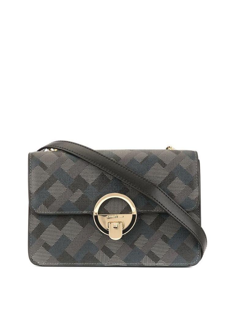 Cerruti 1881 foldover crossbody bag - Black