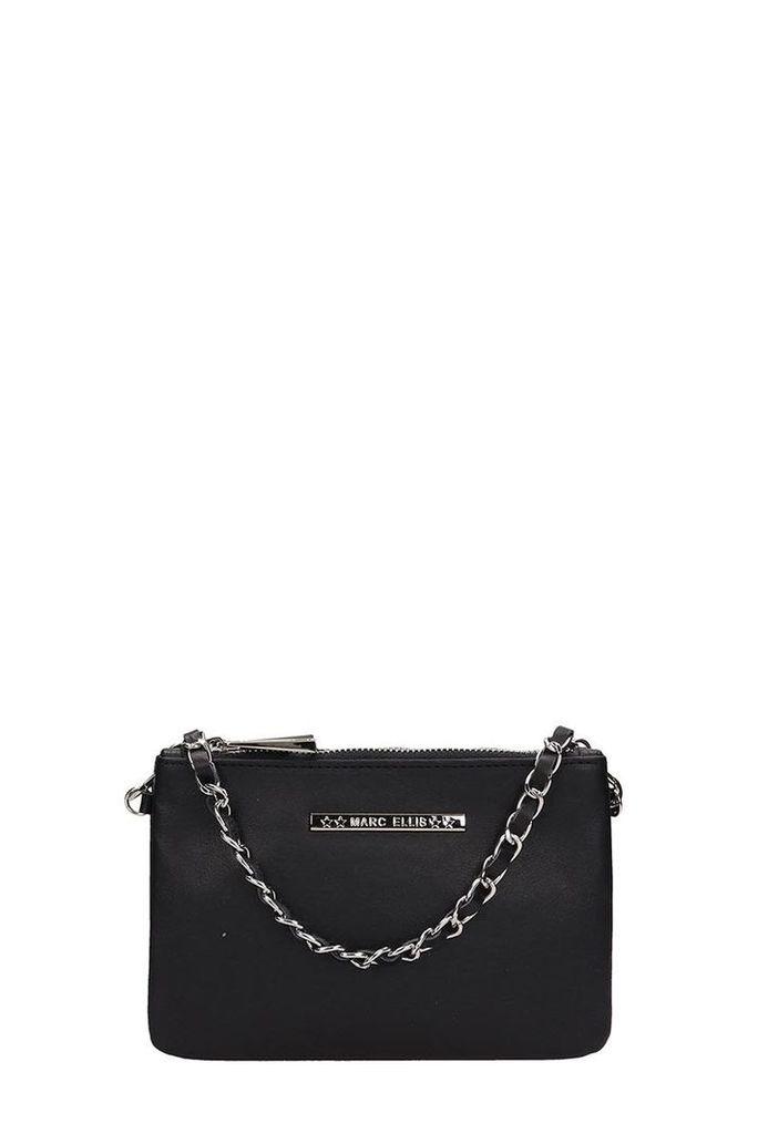 Marc Ellis Black Leather Kendall Bag