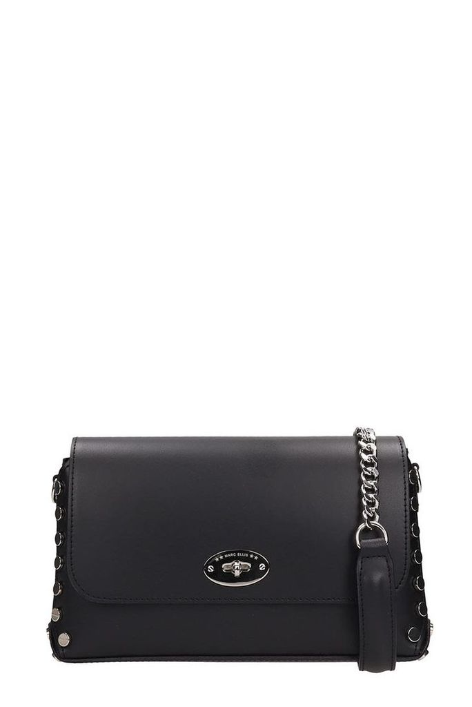 Marc Ellis Black Leather Meredith Bag