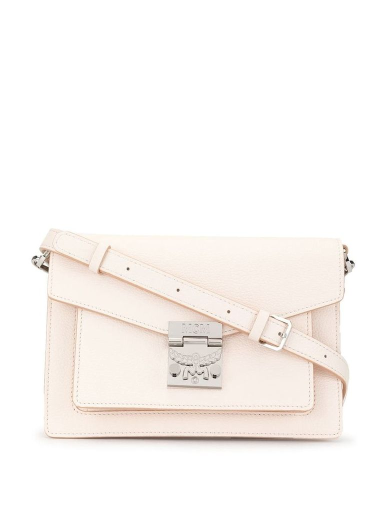 MCM mini crossbody bag - White