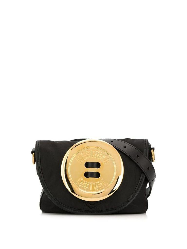 Moschino Button belt bag - Black