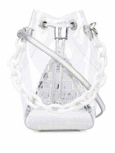The Volon Mani bucket bag - Silver