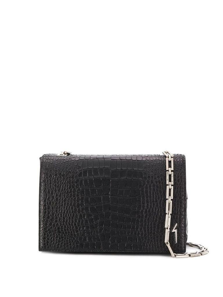 Giuseppe Zanotti Christen clutch bag - Black