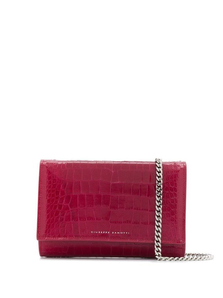 Giuseppe Zanotti Emilee bag - Red