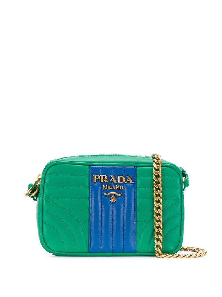 Prada quilted shoulder bag - Green