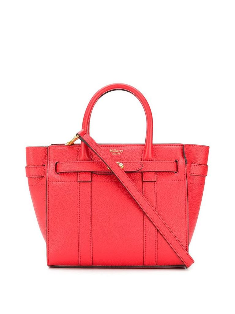 Mulberry small Bayswater tote bag - Red