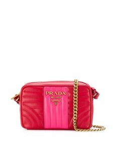 Prada Diagramme small shoulder bag - Red