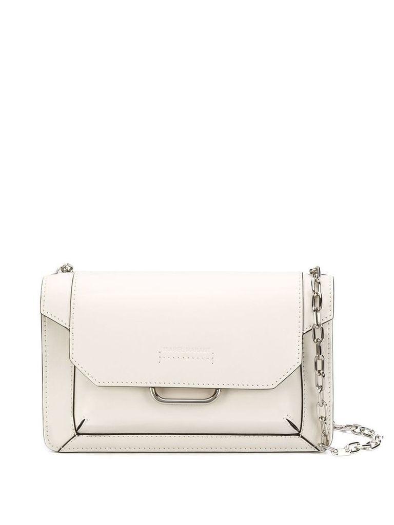 Isabel Marant Skamy shoulder bag - White