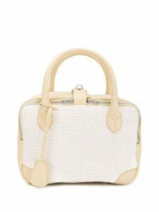 Golden Goose woven side zip bag - Neutrals
