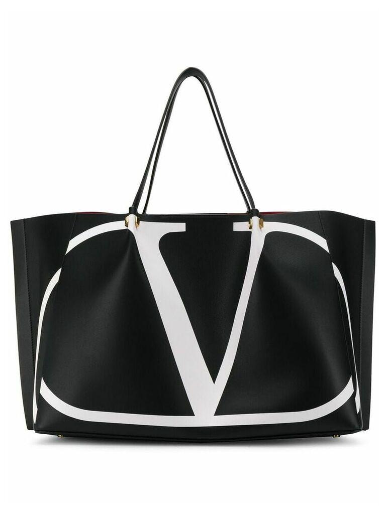Valentino V-logo tote bag - Black