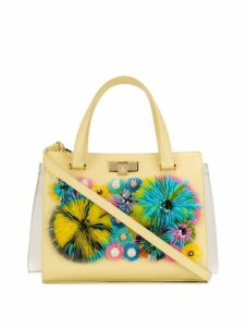 Giancarlo Petriglia pailette appliqué tote - Yellow