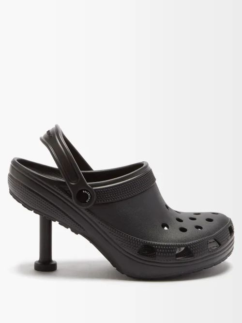 By Walid - Solange Floral Embroidered Linen Skirt - Womens - Pink