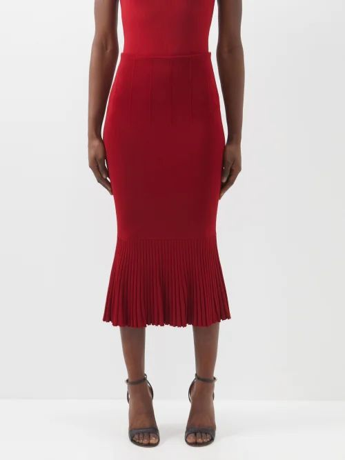 Raey - Batwing Sleeve Cotton Shirt - Womens - White